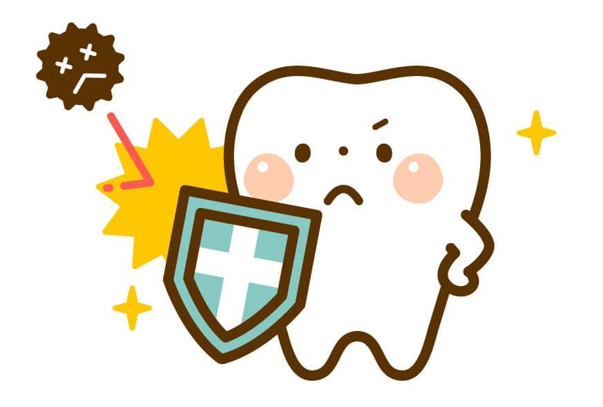 歯のホワイトニングのメリットとして虫歯予防などできる