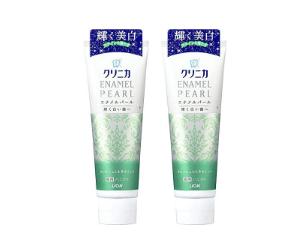 歯磨き粉ホワイトニング商品クリニカエナメルパール画像